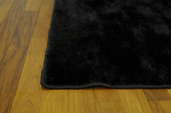 t ft teppe i kunstfiber sort 230x160 cm. Black Bedroom Furniture Sets. Home Design Ideas