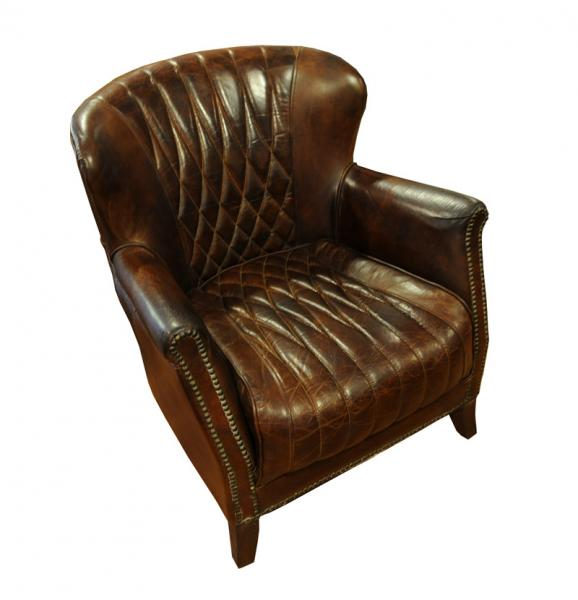 Regent vintage leather lenestol NovaSolo no