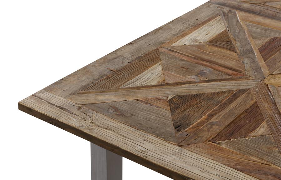 Avignon spisebord i resirkulert alm (180x90)   novasolo.no