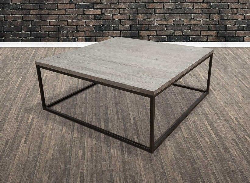 old amsterdam sofabord 100x100. Black Bedroom Furniture Sets. Home Design Ideas