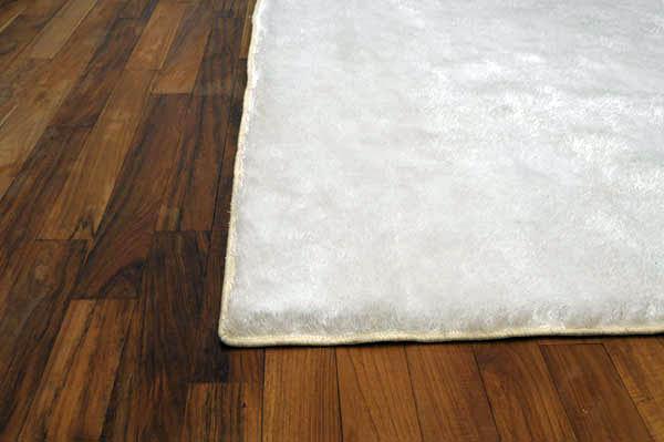 Enorm Tøft teppe i kunstfiber! (hvit) 200x140 cm - NovaSolo.no KI-78